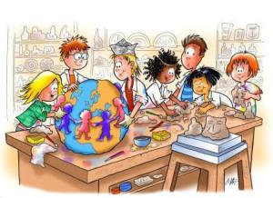 immagine di accoglienza alunni stranieri