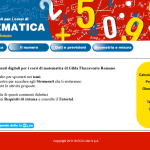 schermata iniziale del software matematica flaccavento