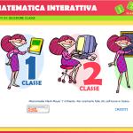 schermata iniziale del sito matematica interattiva