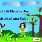 disegno di un bambino in un bosco
