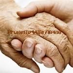 anziano per mano