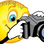 omino con macchina fotografica